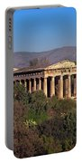 The Temple Of Hephaestus In The Morning, Athens, Greece Portable Battery Charger