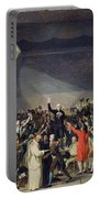 The Tennis Court Oath Portable Battery Charger by Jacques Louis David
