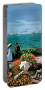 The Terrace At Sainte Adresse Portable Battery Charger