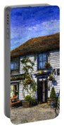 The Theydon Oak Pub Art Portable Battery Charger