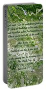 The Third Day With Scripture Portable Battery Charger