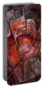 The Third Voice - Fractal Art Portable Battery Charger