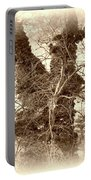 The Tree - Sepia Portable Battery Charger