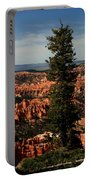 The Tree In Bryce Canyon Portable Battery Charger