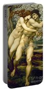 The Tree Of Forgiveness Portable Battery Charger by Sir Edward Burne-Jones