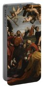 The Triumphal Entry Of Christ In Jerusalem Portable Battery Charger