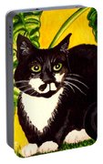The Tropical Cat Portable Battery Charger