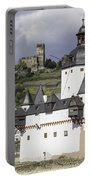 The Two Castles Of Kaub Germany Portable Battery Charger