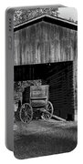 The Undertaker's Wagon Black And White 2 Portable Battery Charger