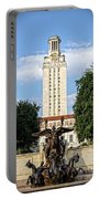 The University Of Texas Tower Portable Battery Charger