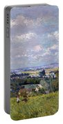 The Valley Of The Seine At Saint Cloud Portable Battery Charger