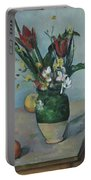 The Vase Of Tulips Portable Battery Charger