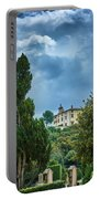 The Views From The Boboli Gardens Portable Battery Charger