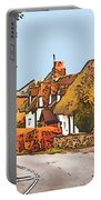 The Village Of Chilbolton Portable Battery Charger
