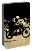 The Vintage Motorcycle Racer Portable Battery Charger