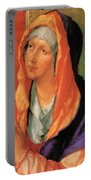 The Virgin Mary In Prayer Portable Battery Charger