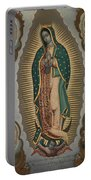The Virgin Of Guadalupe With The Four Apparitions Portable Battery Charger