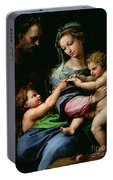 The Virgin Of The Rose Portable Battery Charger