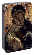 The Virgin Of Vladimir Portable Battery Charger