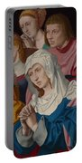The Virgin Saints And A Holy Woman Portable Battery Charger