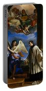 The Vocation Of Saint Aloysius Gonzaga Portable Battery Charger