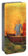 The Vocation Of The Apostle Peter Fragment 1311 Portable Battery Charger