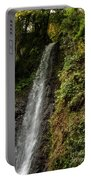 The Water Falling At The Yoro Waterfall In Gifu, Japan, November Portable Battery Charger