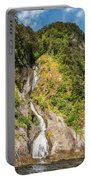 'the Water Of Life' Spring At Doubtful Sound Portable Battery Charger