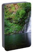 The Waterfall And Large Pool Of Vieiros Portable Battery Charger