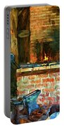 The Way We Were - The Blacksmith - Paint Portable Battery Charger