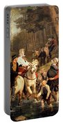The Wedding Trek Portable Battery Charger by Adolphe Tidemand