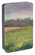 The West Cow Pasture Early Morning Portable Battery Charger