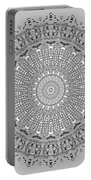 The White Mandala No. 4 Portable Battery Charger