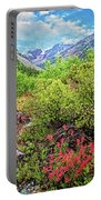 The Wildflowers Of Lundy Canyon Portable Battery Charger