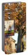 The William Pitt Shop Sign Portable Battery Charger