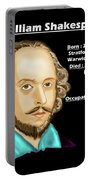 The William Shakespeare Portable Battery Charger