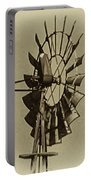 The Windmills Of My Mind Portable Battery Charger