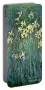 The Yellow Irises Portable Battery Charger