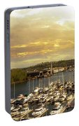 Thea Foss Waterway In Tacoma Washington Portable Battery Charger