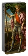 Theodoric King Of The Goths Portable Battery Charger