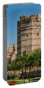 Theodosian Walls - View 3 Portable Battery Charger