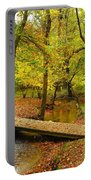 There Is Peace - Allaire State Park Portable Battery Charger
