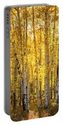 There's Gold In Them Woods  Portable Battery Charger
