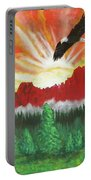 They That Wait Upon The Lord   Isa 40 31 Portable Battery Charger