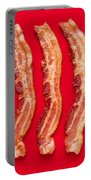 Thick Cut Bacon Served Up Portable Battery Charger