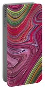 Thick Paint Abstract Portable Battery Charger