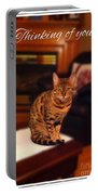 Thinking Of You - Bengal Cat Portable Battery Charger