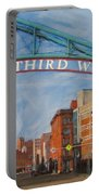 Third Ward Entry Portable Battery Charger