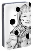 This Life In My Hands Excerp Portable Battery Charger by Deadcharming Art