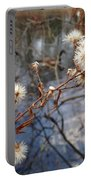 Thistles And Geese  Portable Battery Charger